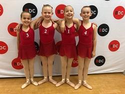 ATOD Dance Exam Students