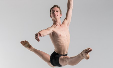 NZSD 1st Year Student Aidan Tully. Photo by Stephen A'Court.