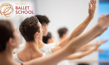World Ballet School Day. Photo by Arnaud Stephenson.