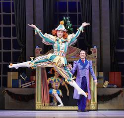 Adam Alzaim in West Australian Ballet's 'The Nutcracker'. Photo by Sergey Pevnev.