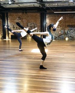 Lion Heart Dance Company in class