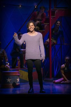 Ainsley Melham as Pippin. Photo by Brian Geach.