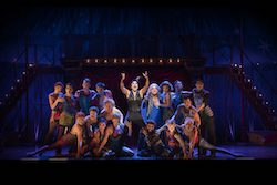 Gabrielle McClinton and the cast of 'PIPPIN'. Photo by David Hooley.