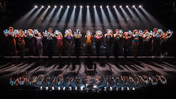'A Chorus Line'. Photo by Robert Catto.