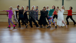 Move Through Life's mature company. Photo courtesy of Move Through Life Dance Studio.