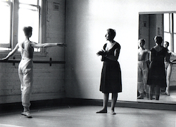 Tanya Pearson teaching in the 1970s.