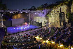 West Australian Ballet performing at the Quarry Amphitheatre. Photo by Frances Andrijich.