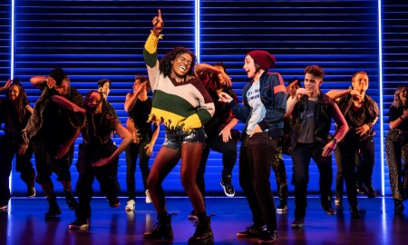 Celia Rose Gooding, Lauren Patten and company of the original Broadway cast of 'Jagged Little Pill'. Photo by Matthew Murphy.