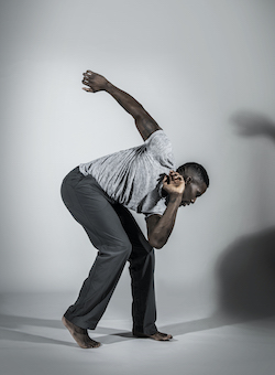 Motionhouse dancer Junior Cunningham. Photo by One Dance UK, Dani Bower Photography.