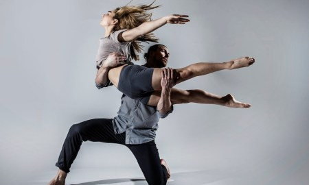 Motionhouse dancers Berta Contijoch and Chris Knight. Photo by One Dance UK, Dani Bower Photography.