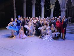 Joel Woellner (centre). Photo courtesy of Queensland Ballet.