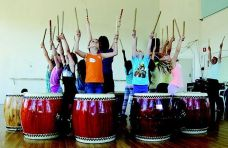 Youth Taiko, Courtesy of Dance Mission Theater