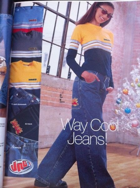 way cool jeans bruh JNCO is back
