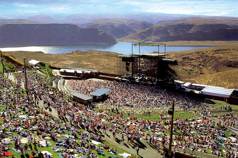 Phish at the gorge