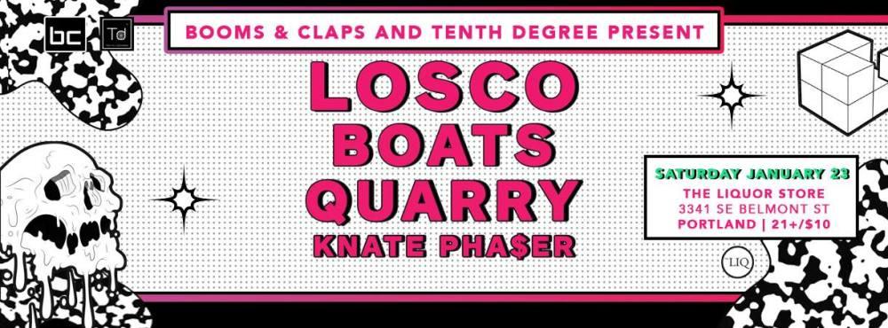 Tenth Degree Portland The Liquor Store Losco Boats