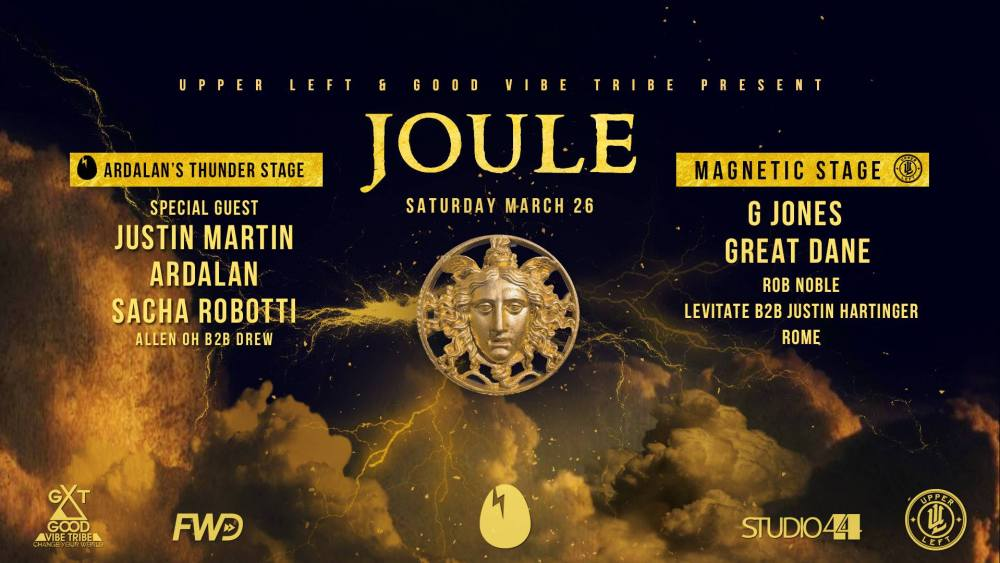 Upper Left and Good Vibe Tribe present Joule at Fremont Foundry