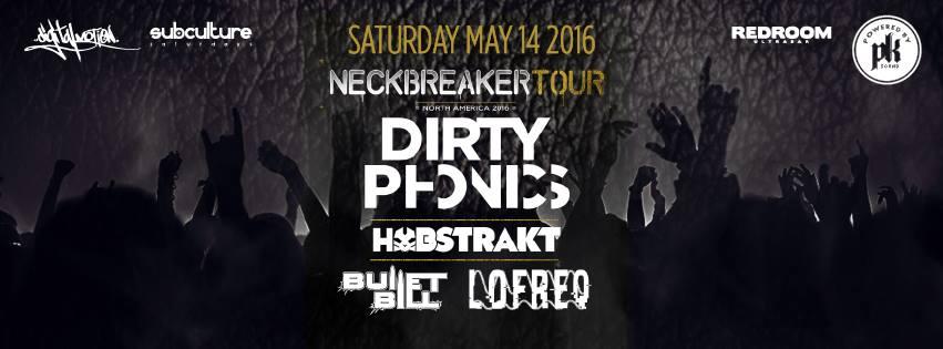 neckbreaker tour dirtyphonics vancouver