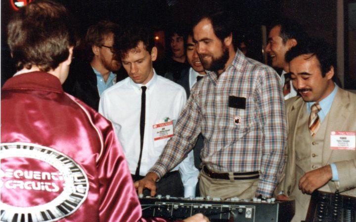 NAMM 1983 Dave Smith