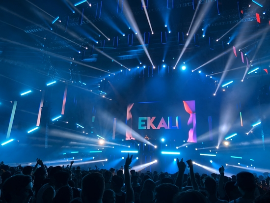 Ekali at Contact's Massive Main Stage