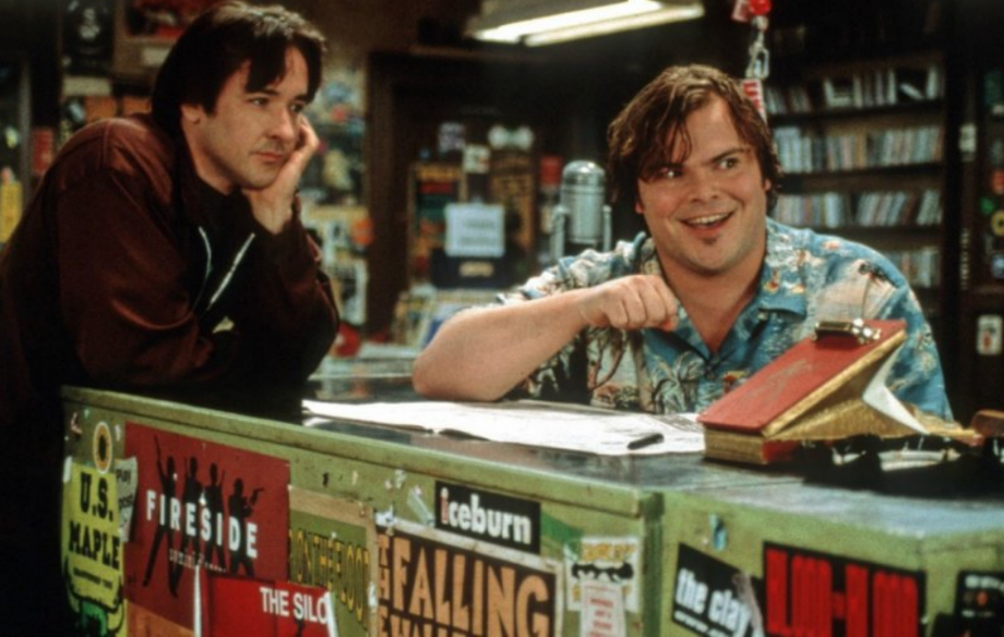 John Cusack and Jack Black in the original High Fidelity film