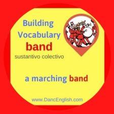 significado de la palabra band en ingles