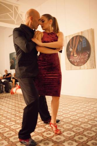 Tango show at Art on 56th