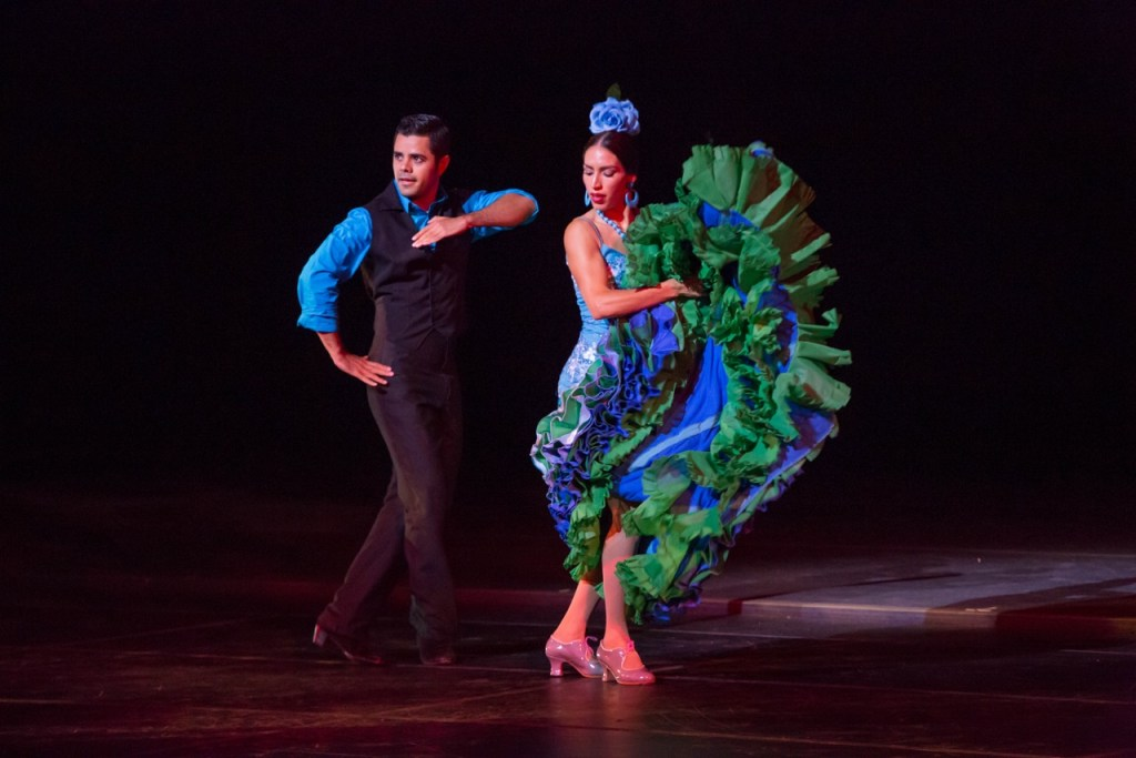 Nestor Corona and Claudia Pizarro (Photo by Cheryl Mann)