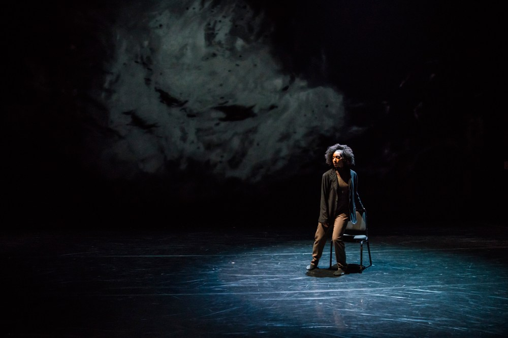 Hubbard Street Dancer Renee Butler in Space, In Perspective by Peter Chu. Photo by Todd Rosenberg.