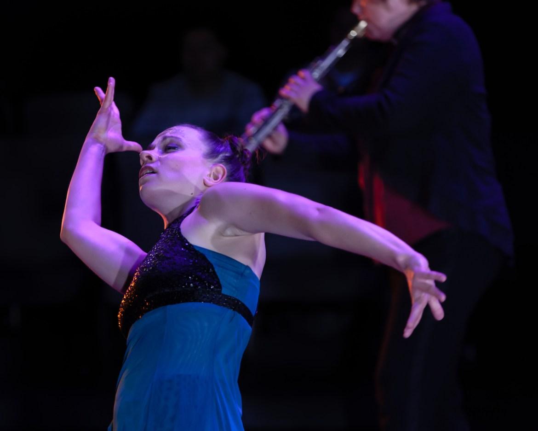 photo by Dan Kasberger, feat. dancer Federica Cocom & musician Juli Wood