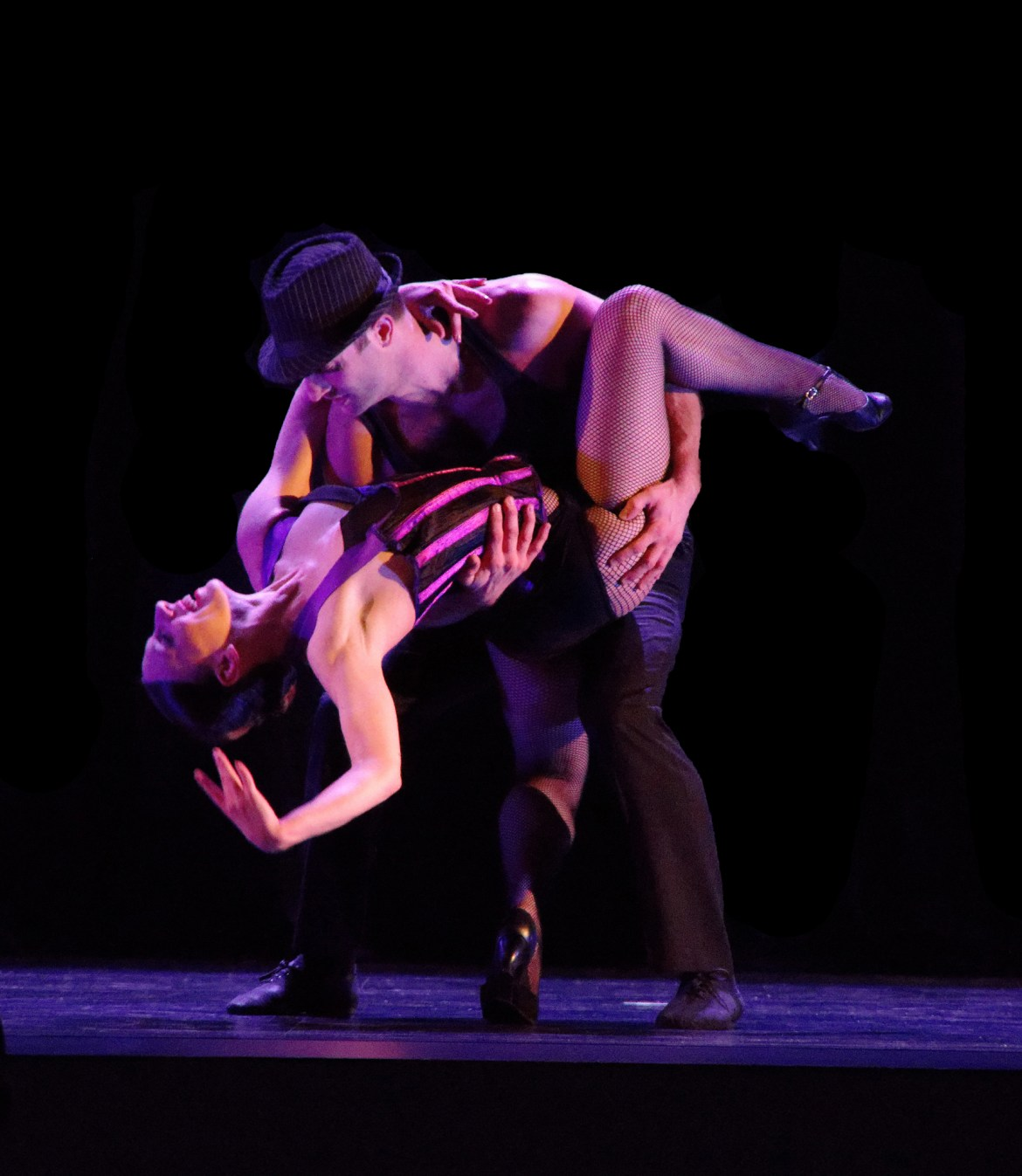 Maeghan McHale and Zachary Heller (Courtesy of Giordano Dance Chicago)