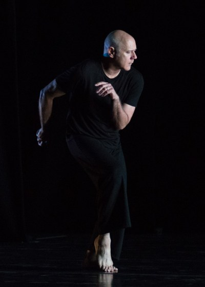 "Doug Varone in ""Nocturnes"" (Photo by Brooke Trisolini)"