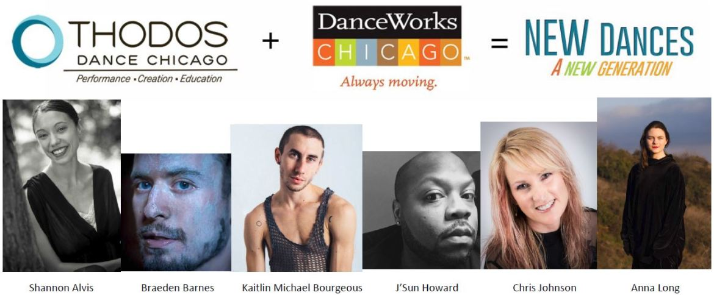 New Dances Choreographers (Courtesy of DanceWorks Chicago and Thodos Dance Chicago))
