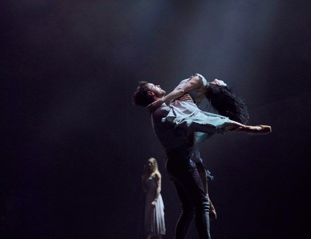 Tamara Rojo and James Streeter in Akram Khan's Giselle (Photo by Laurent Liotardo)