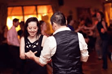 Learn ballroom dancing - taking a lesson
