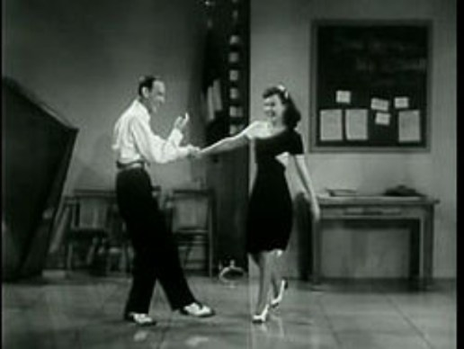 fred astaire teaching free ballroom dance lesson