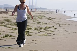 staying youthful by walking