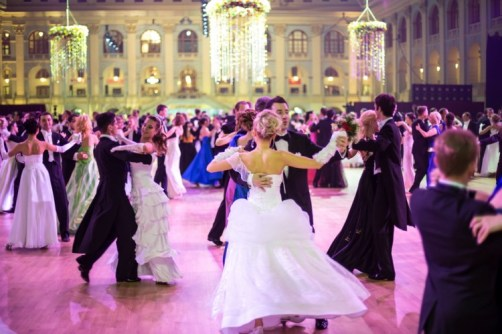 Viennese Waltz at the ball.