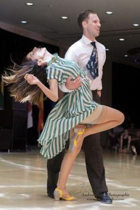 confident dancers