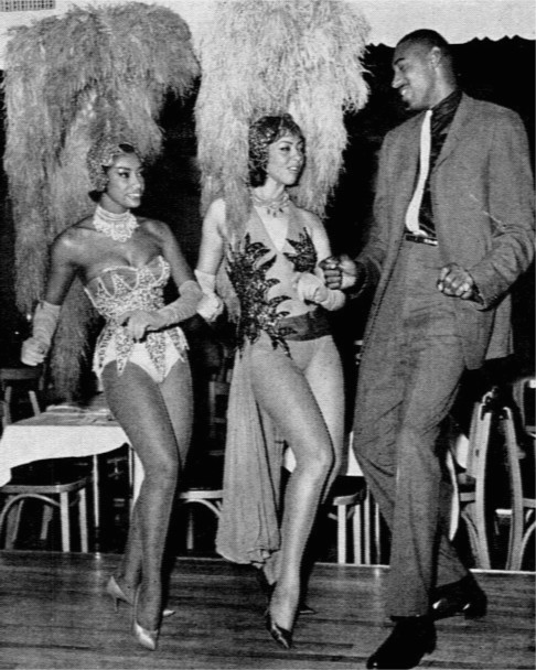 Sports figures like Wilt Chamberlain liked to dance disco.