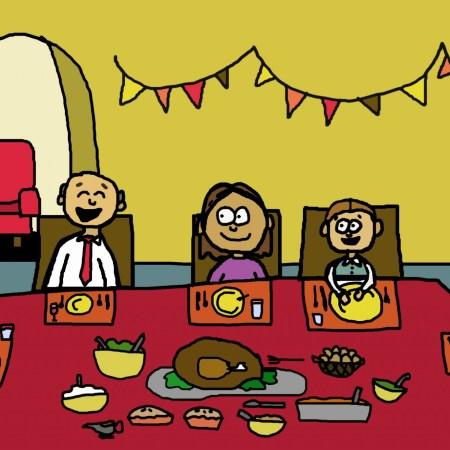 achieve a peaceful thanksgiving