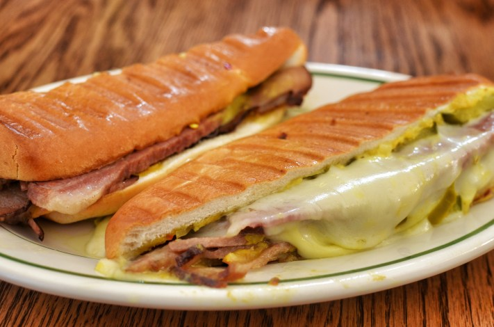 Cuban sandwich for our around the world potluck.