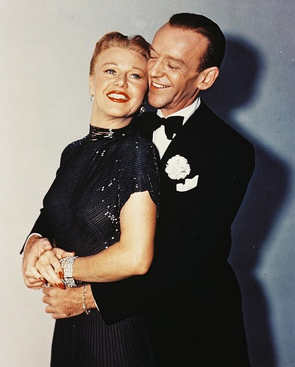 Fred Astaire and Ginger Rogers were known for easy, carefree ballroom dancing.