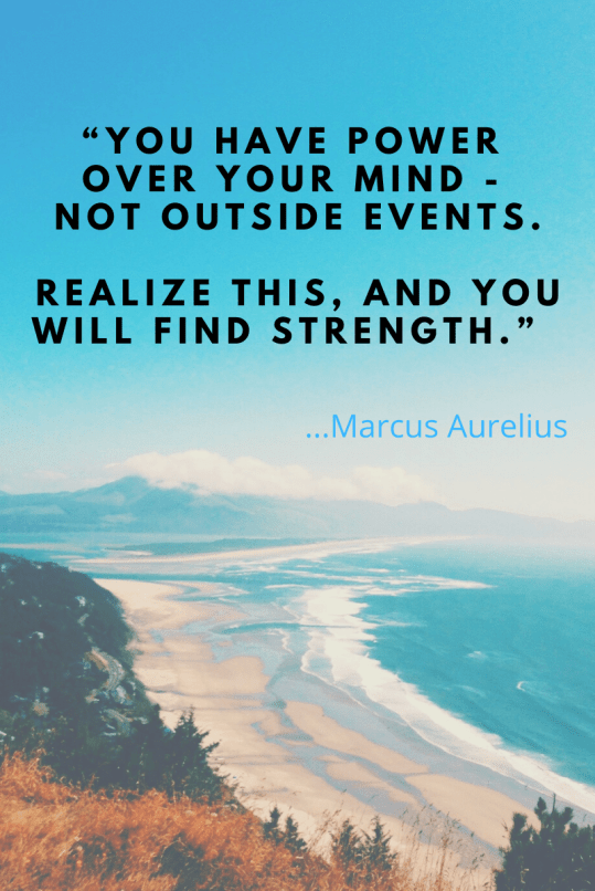 Use the power of your mind to find inner-strength.