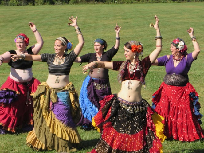 belly dancing american tribal style