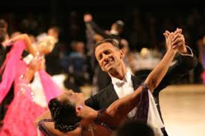 pros and cons of ballroom dancing and a leader who is in the zone