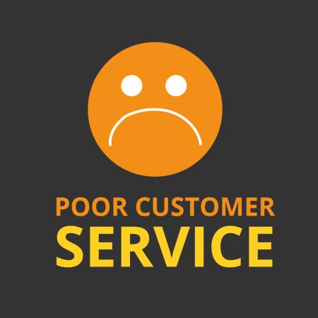 bad customer service sucks