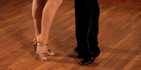 beginning ballroom dance means learning steps