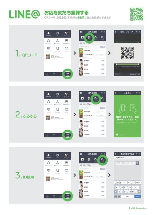 Line@登録方法