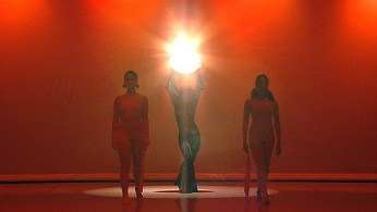 "Fayzah choreography piece - ""Death"" from the Tarot. Premier at Merc Cunningham, NYC"