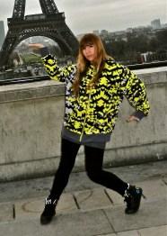 waving in Paris